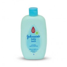 Johnsons Blue Gentle Cleansing Baby Bath 300ml Italy