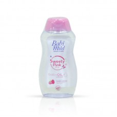 Babi Mild Sweety Pink Baby Oil 100ml
