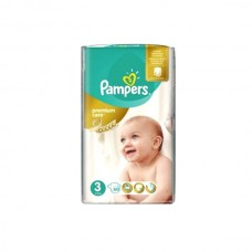 Pampers Premium Care Baby Diapers 3 Medi 58pcs