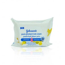 Johnsons Pure Protect Baby Wipes 25pcs