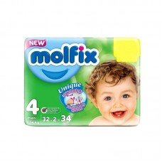Molfix Baby Diapers 4 Maxi 32pcs