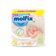 Molfix Baby Diapers 2 Mini 80pcs