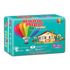 Bona Papa Baby Diapers Large 76pcs