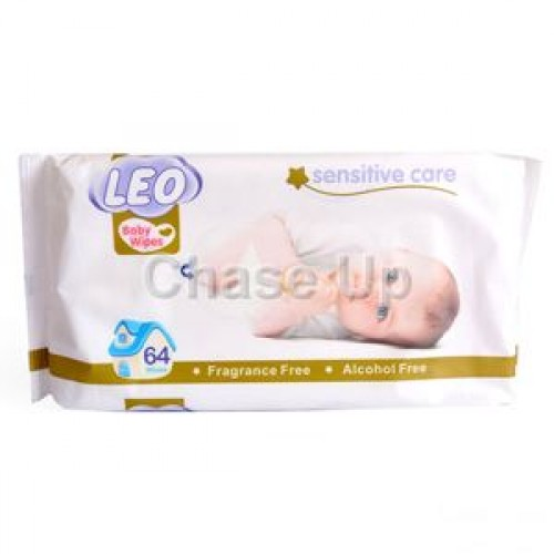 Leo Sensitive Care Baby Wipes 64pcs