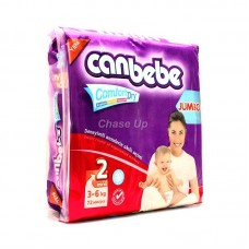 Canbebe Baby Diapers 2 Mini 72pcs