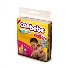Canbebe Baby Diapers Jumbo New Born 84pcs
