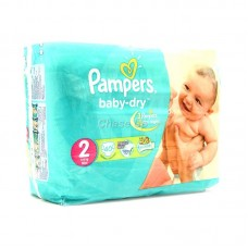 Pampers Baby Diapers 1/2 Mini 40pcs