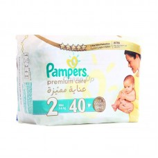 Pampers Premium Care Baby Diapers 2 Mini 40pcs
