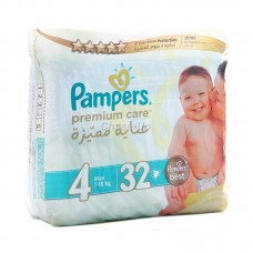 Pampers Premium Care Baby Diapers 4 Maxi 26pcs