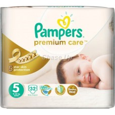 Pampers Premium Care Baby Diapers 5 Junior 24pcs