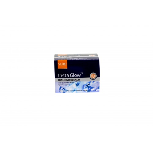 VLCC Insta Glow Diamond Bleach Cream 30gm