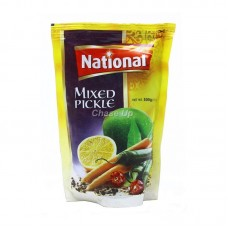 National Mixed Pickle Pouch 500gm