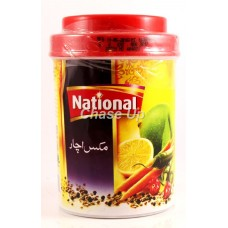 National Mixed Pickle Jar 400gm