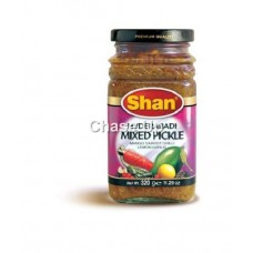 Shan Hyderabadi Mixed Pickle Bottle 320gm