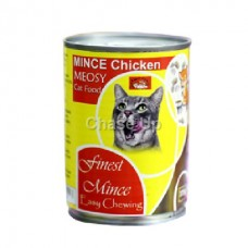 Meosy Cat Food Chicken Mince Tin 375gm