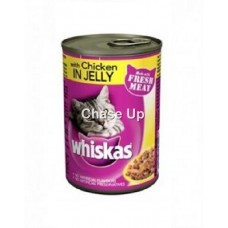 Whiskas Chicken Jelly Cat Food Tin 390gm