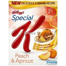 Kelloggs Special K Apricot & Peach Cereal 320gm