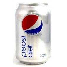 Pepsi Diet Soft Drink Can 330ml PK