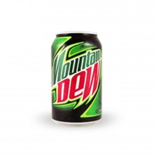 Pepsi Mountain Dew Slim Soft Drink Can 250ml