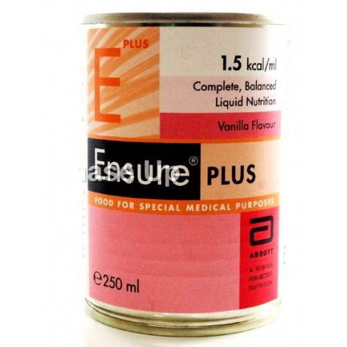 Ensure Vanilla Plus Nutrition Food Supplement 250ml