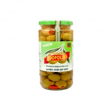 Coopoliva Spanish Stuffed Green Olives Jar 935gm