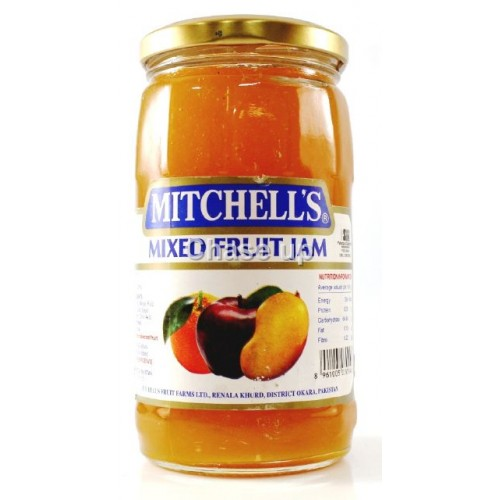 Mitchells Mix Fruit Jam 450gm