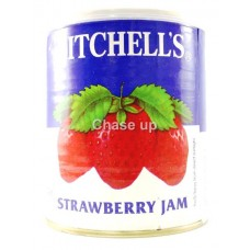 Mitchells Strawberry Jam Tin 1050gm