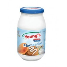 Youngs French Mayonnaise Bottle 925ml