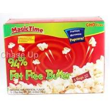 Magic Time 94% Fat Free Butter Popcorn 242gm