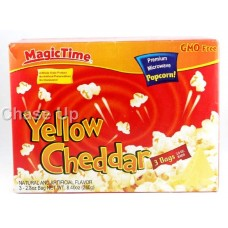 Magic Time Yellow Chedder Popcorn 242gm
