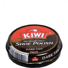 Kiwi Dark Tan Shoe Polish 20ml