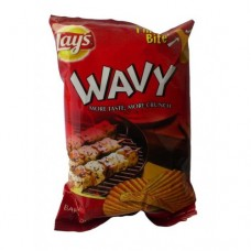 Lays Wavy BBQ Chips 23gm