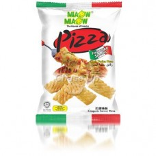 Miaow Miaow Pizza Snacks 60gm Imp