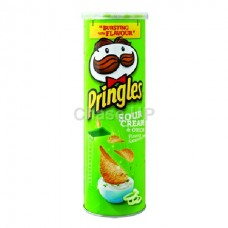 Pringles Sour Cream & Onion Chips 110gm IBL