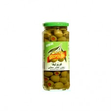Coopoliva Spanish Stuffed Green Olives Jar 142gm