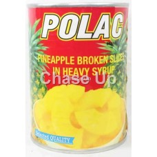 Polac Broken Pineapple Slice Tin 565gm