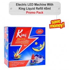 King Liquid Refill & Electric LED Machine 45ml