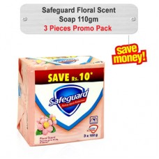 Safeguard Floral Scent Soap 110gm 3pcs