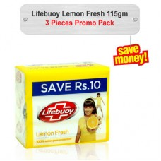 Lifebuoy Lemon Fresh Soap 115gm 3pcs
