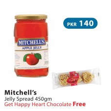 Mitchells Apple Jelly Spread 450gm